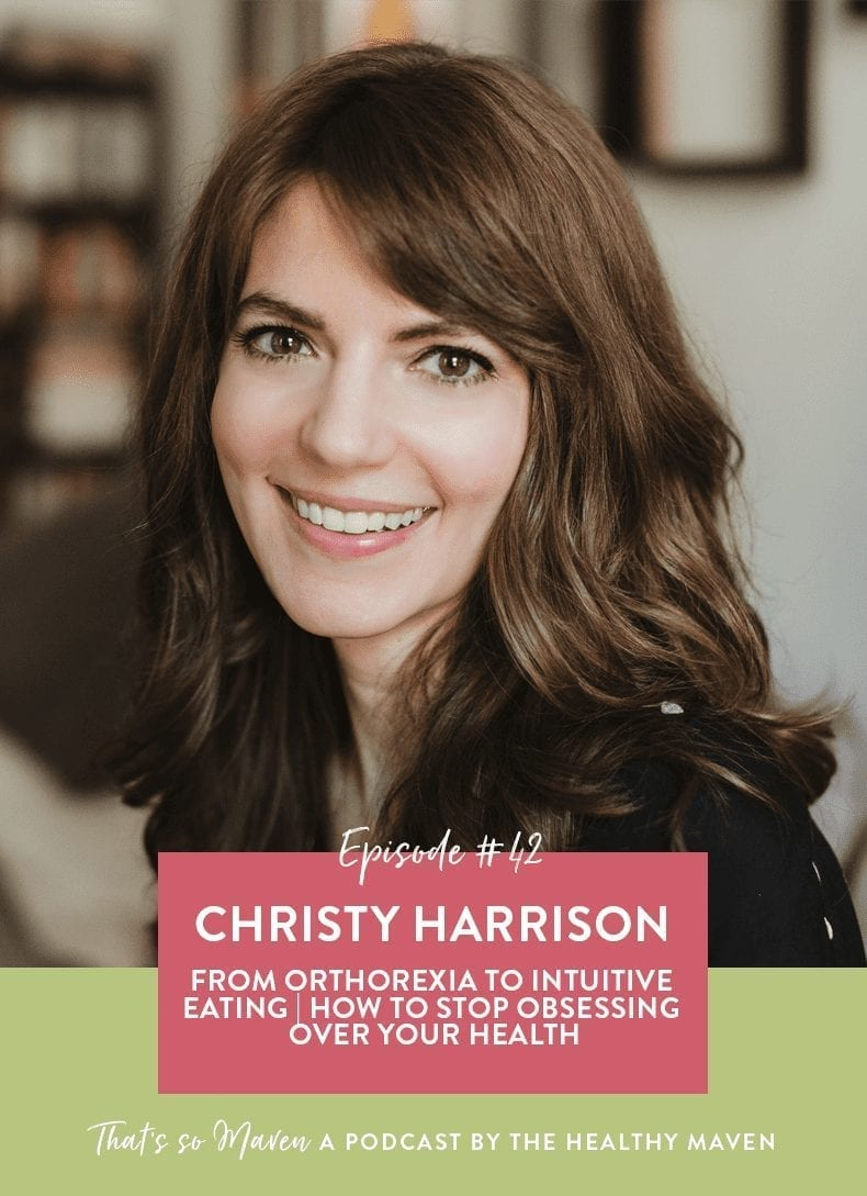 On Episode #42 of the podcast, we have Christy Harrison, a world-reknowned intuitive eating and anti-diet dietician on the show today sharing her wisdom and help for navigating the holidays as an intuitive eater.