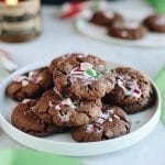 A recipe for Healthy Peppermint Chocolate Cookies that are grain-free, paleo and made in one-bowl. They're not short on delicious, sweet flavor though!