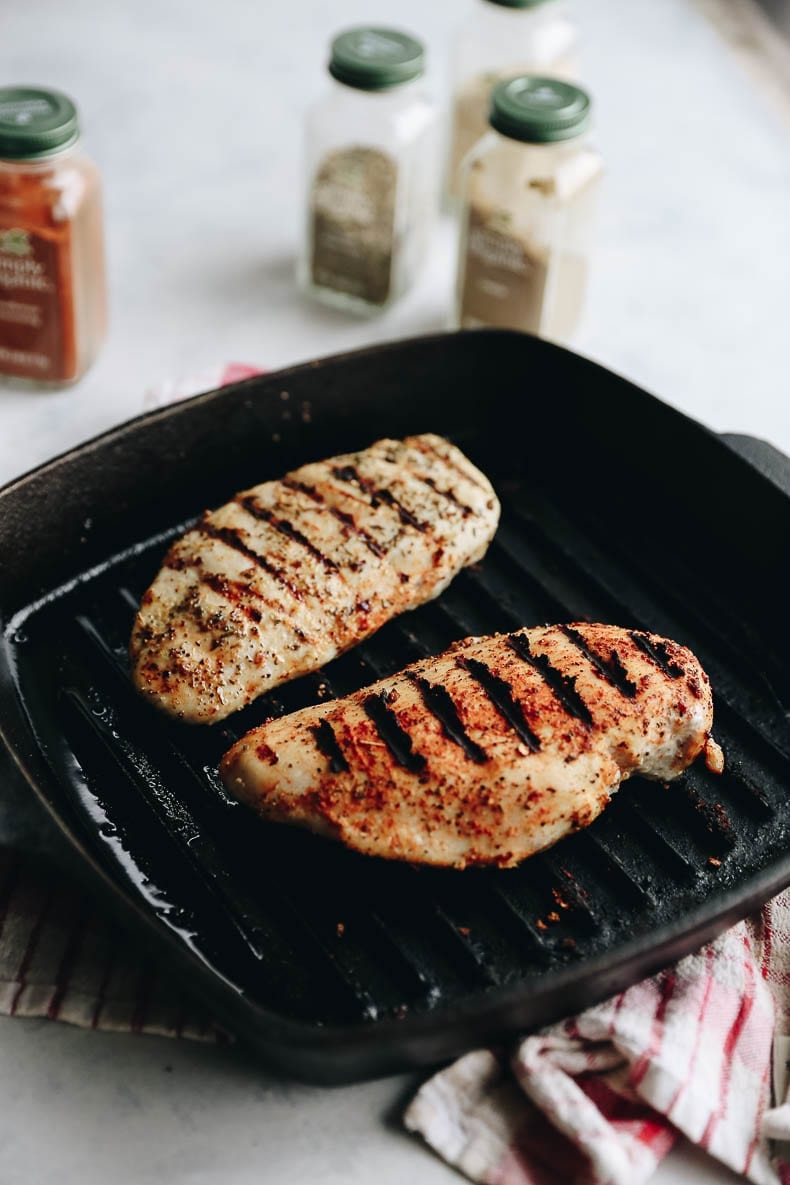 Don't have a BBQ or grill? No problem! This tutorial will show you How To Cook The Perfect Stove-Top Chicken Breast, grill marks and all! Perfect for small homes without a backyard grill or in a college dorm-room.