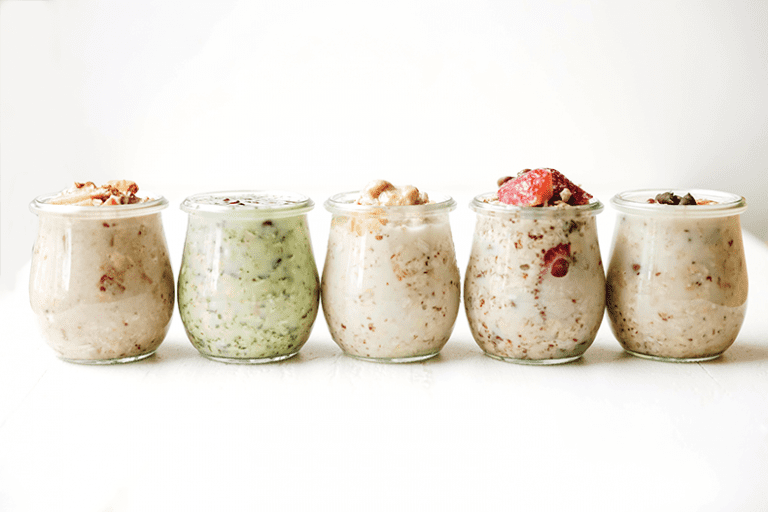 Sick of your usual overnight oat jars? These healthy overnight oat jar recipes are ones you've never seen before that are delicious, nutritious and easy to make!