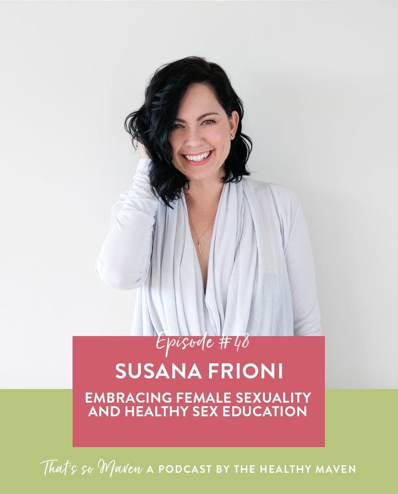 On episode #48 of the podcast we have Susana Frioni, discussing relationship advice, sexuality and how both look so different on everyone.