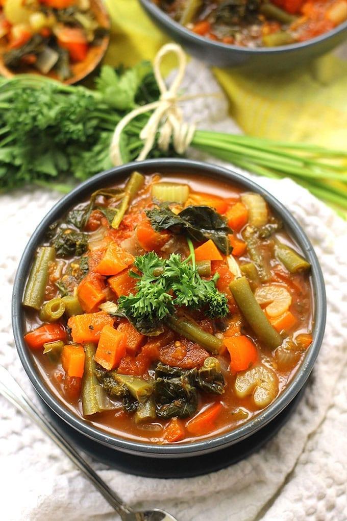Detox Vegetable Soup Recipe Healthy Easy The Healthy Maven