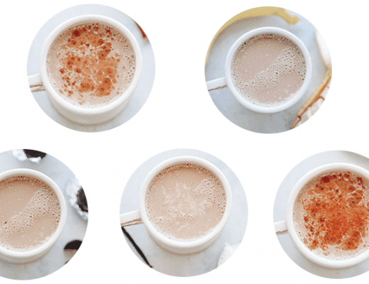 Healthy Hot Chocolate- 5 ways