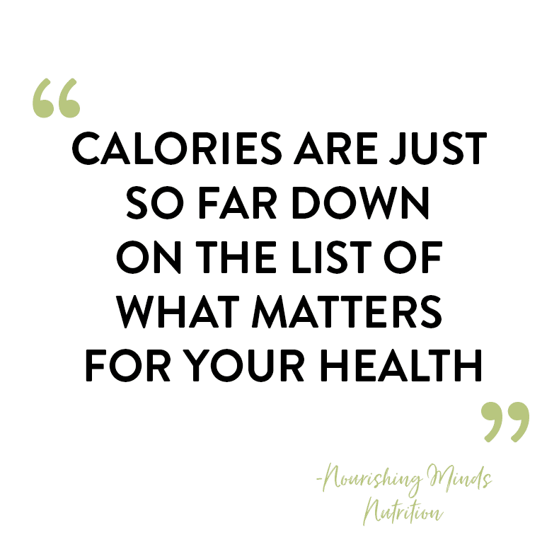 On episode 54 of the That's So Maven podcast we have Victoria Myers and Meg Dixon from Nourishing Minds Nutrition chatting all about why calorie counting is archaic and how to get back to intuitive eating.