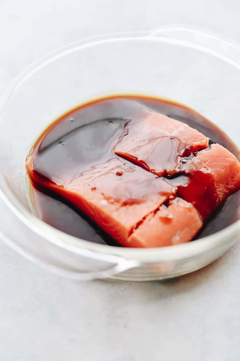 Marinated Easy Hoisin Garlic Salmon
