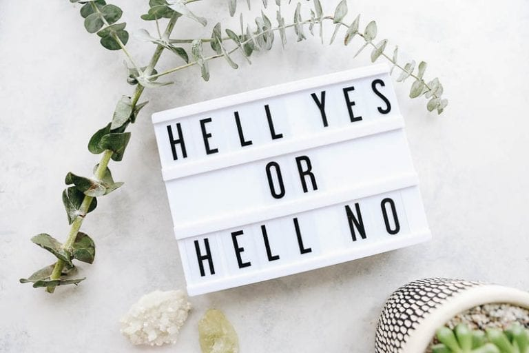 It's hard to say no in a world of saying yes. But truthfully, the art of saying no, really is the art of saying yes. This article breaks down some tips and tricks on deciding when to say no and best practices for how.
