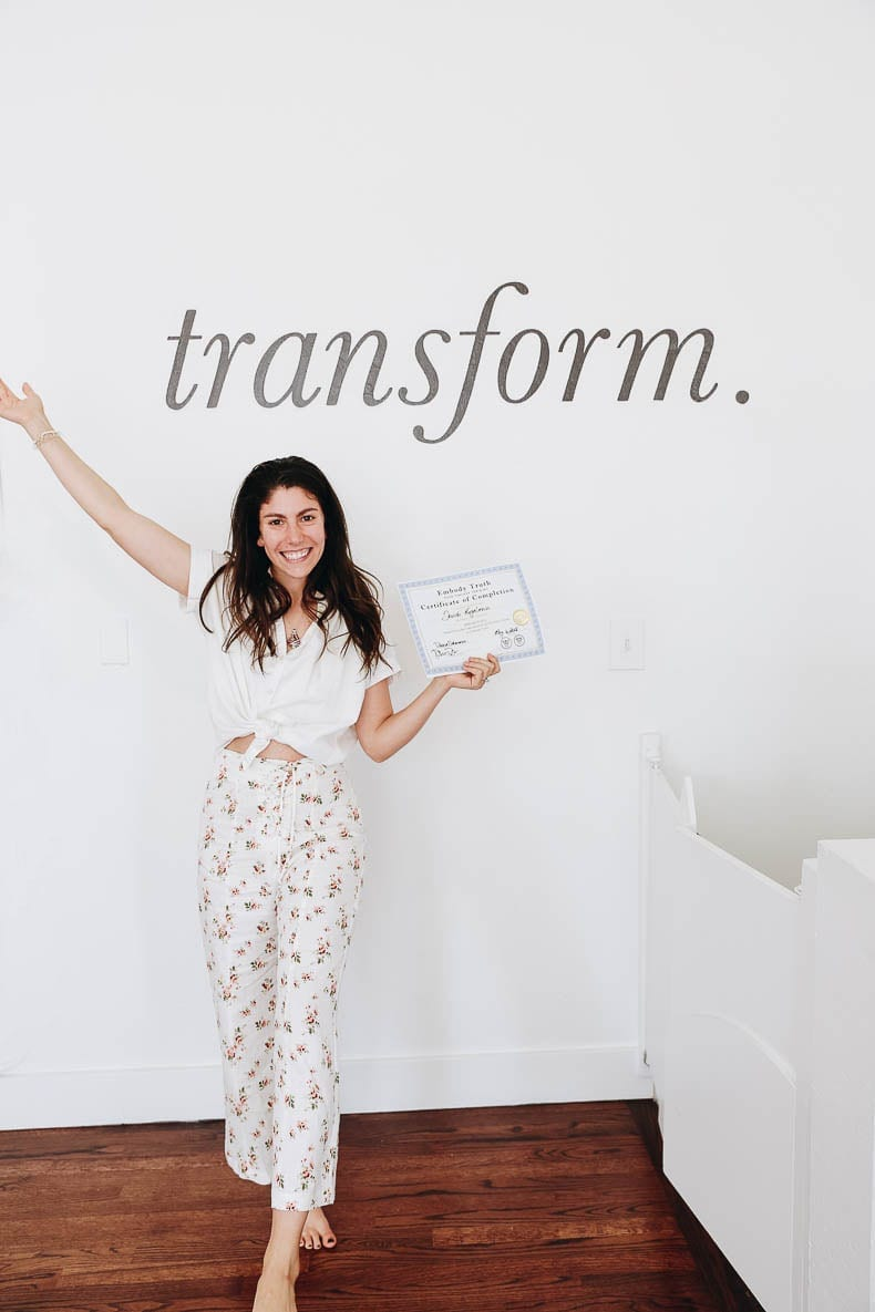 Be open to transformation! Here's what I learned from completing my yoga teacher training program!