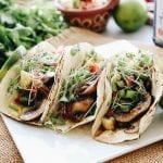 Looking for a delicious plant-based dinner option? Look no further than these Mushroom Teriyaki Tacos with Pineapple Salsa. A healthy, veggie-focused meal full of hearty and nutritious ingredients, but not short on flavor!