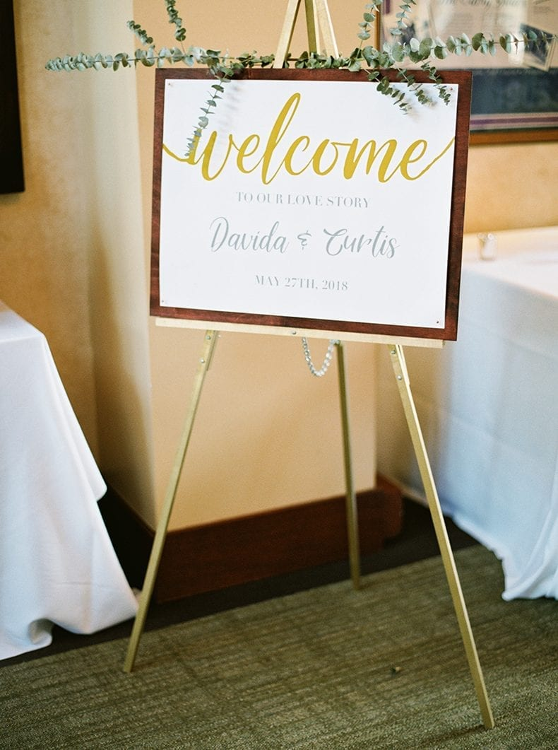 DIY Welcome Wedding Sign for half the price of Etsy Signs!