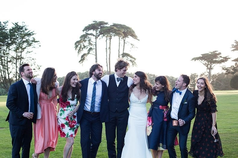 Green and white San Francisco Wedding in the presidio #wedding #weddinginspiration #greenandwhitewedding