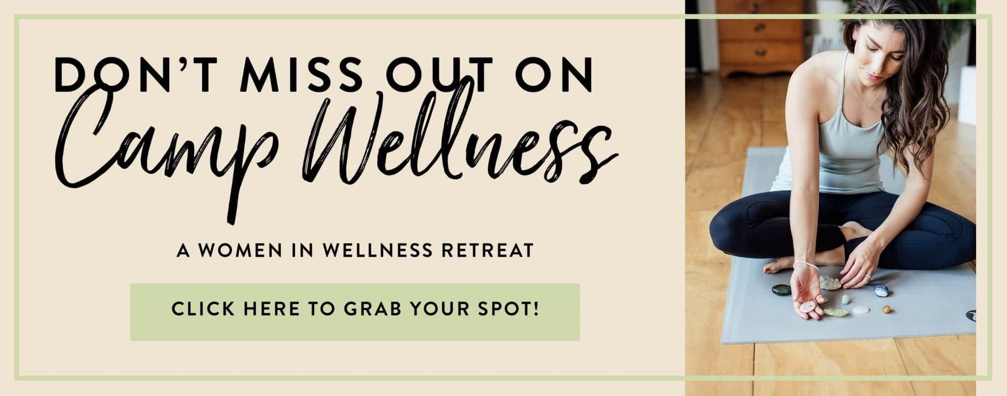 Camp Wellness Sponsors - The Healthy Maven