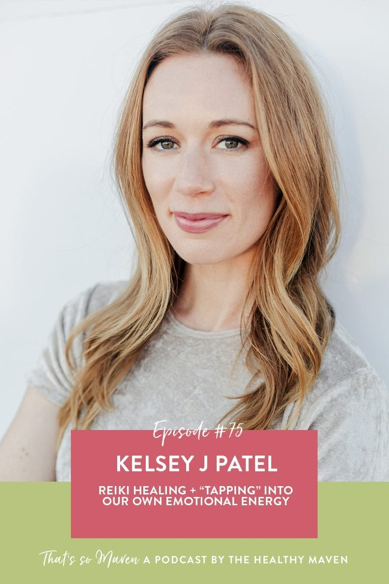 On Episode 75 of That's So Maven, Davida is interviewing Kelsey J Patel, Reiki Master and energy healer all about reiki, EFT and how tune into your energy field.