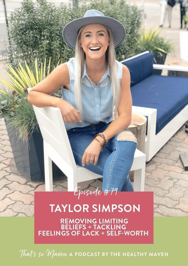On Episode 79 of That's So Maven, Davida is interviewing Taylor Simpson all about the law of attraction and manifesting the life of your dreams.