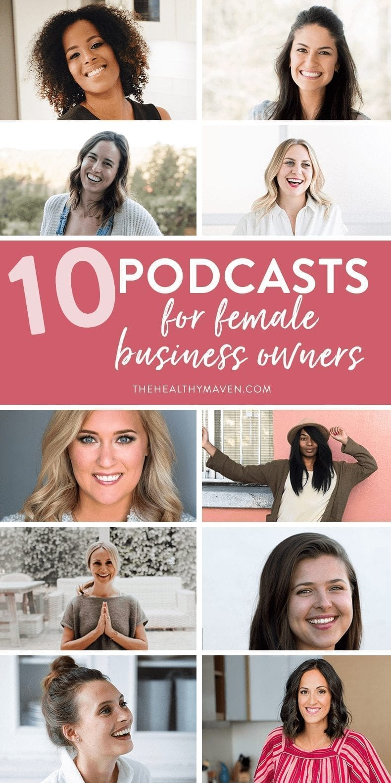 10 Podcasts for Female Business Owners