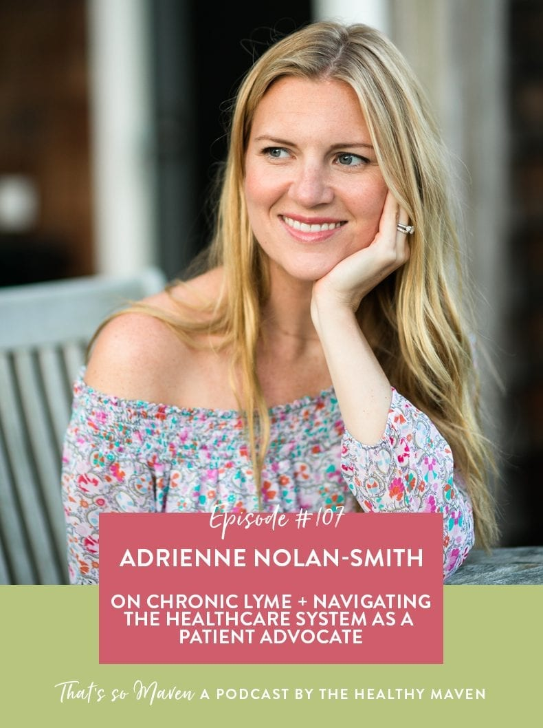 On Episode #107 of the That's So Maven podcast Davida is chatting with Adrienne Nolan-Smith from Get WellBe on being your own health advocate and getting the resources you need from the healthcare system.