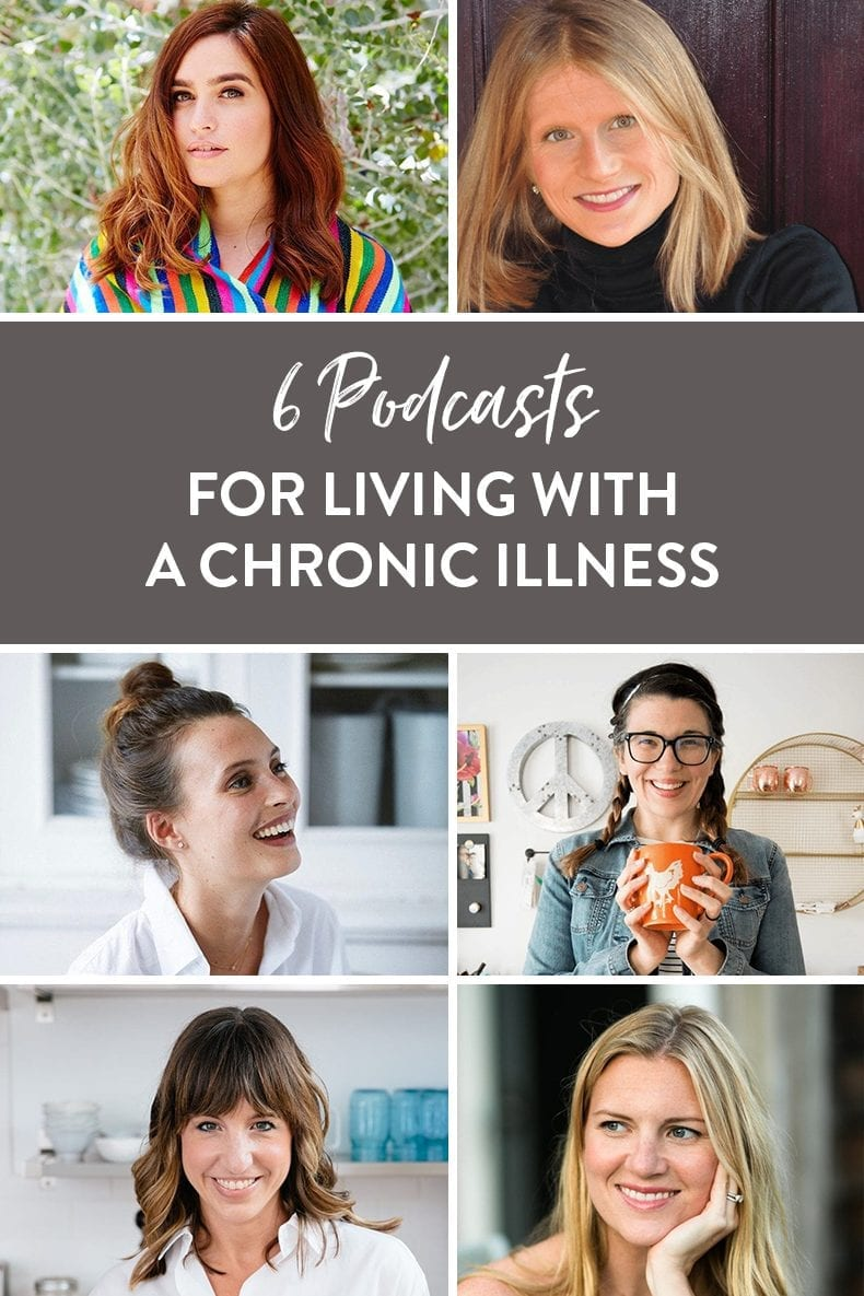 Living with a chronic illness and looking to get some additional support? These 6 podcast episodes will help you to cope and support your body as you navigate your illness.