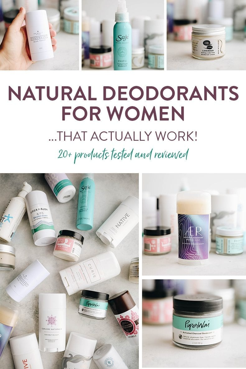 Switching to natural deodorant can be tough. The Healthy Maven has tested over 20 and here are the best natural deodorants for women that actually work.
