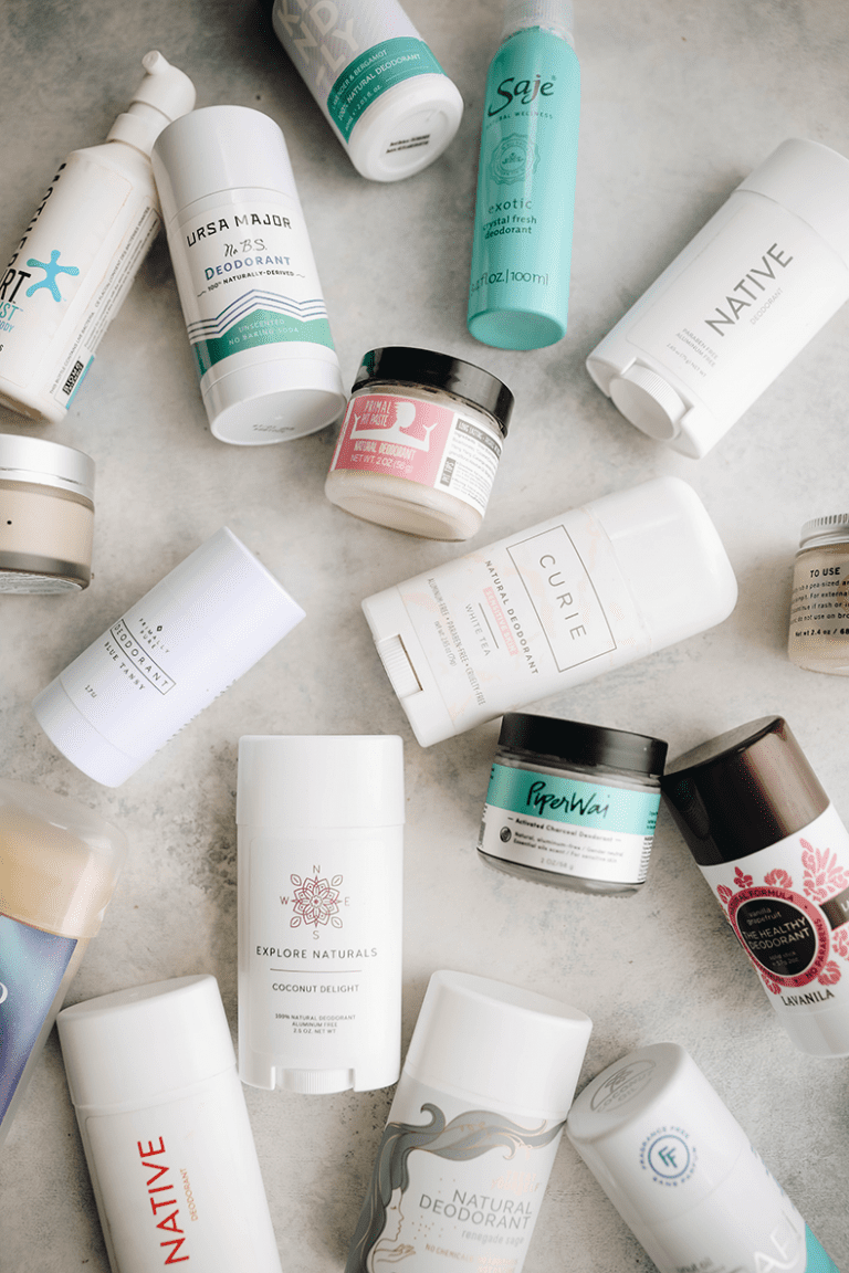 The Best Natural Deodorants for Women {That Actually Work
