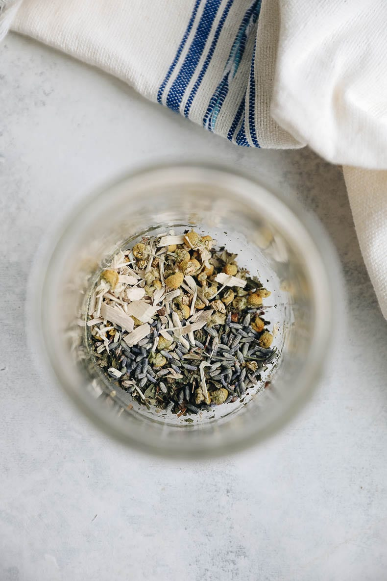 DIY Stress Relief tea for a calming addition to your daily routine