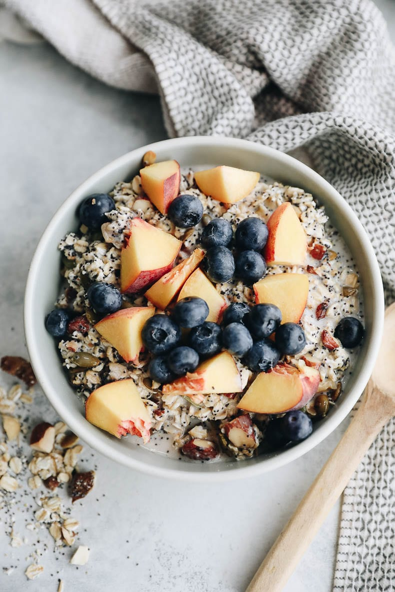 Dare I say better than store-bought? Make this build your own muesli recipe right at home and enjoy with milk or yogurt for a delicious and nutritious breakfast that you can customize to your liking! #muesli #diy