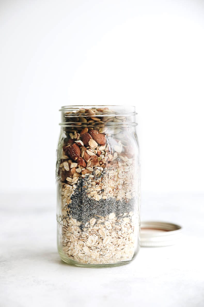 Build your own muesli recipe - perfect for quick weekday morning breakfasts!
