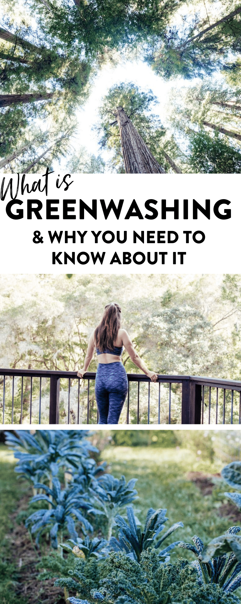 A look at greenwashing and the brands that are greenwashing as well as tips on how to avoid it #sustainability #greenwashing