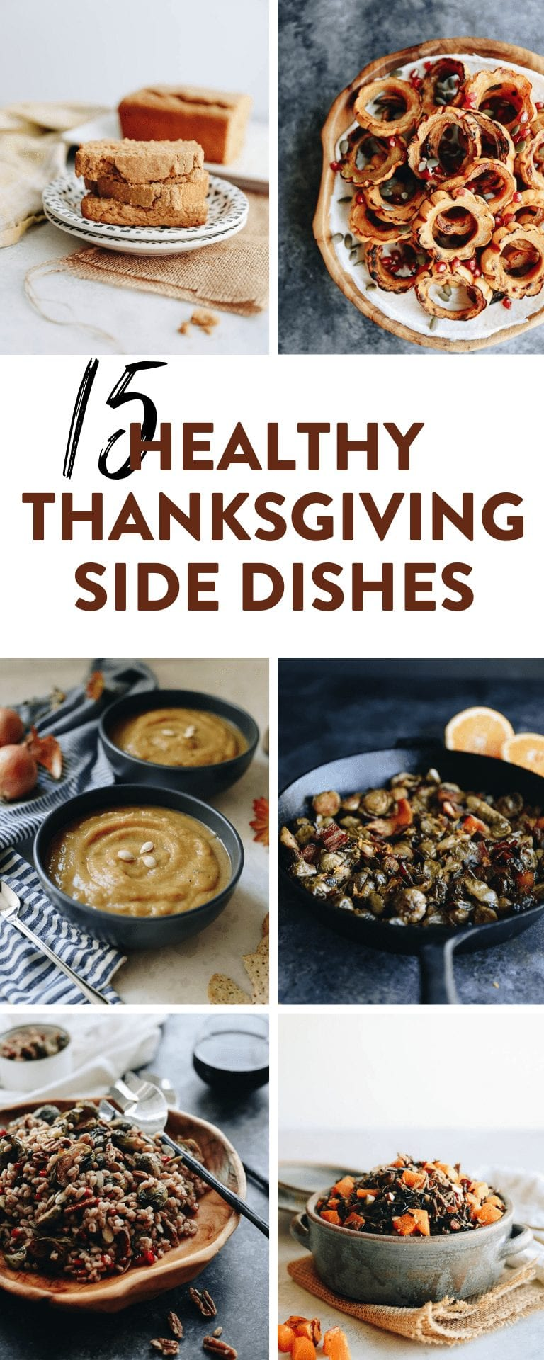 15 healthy thanksgiving sides