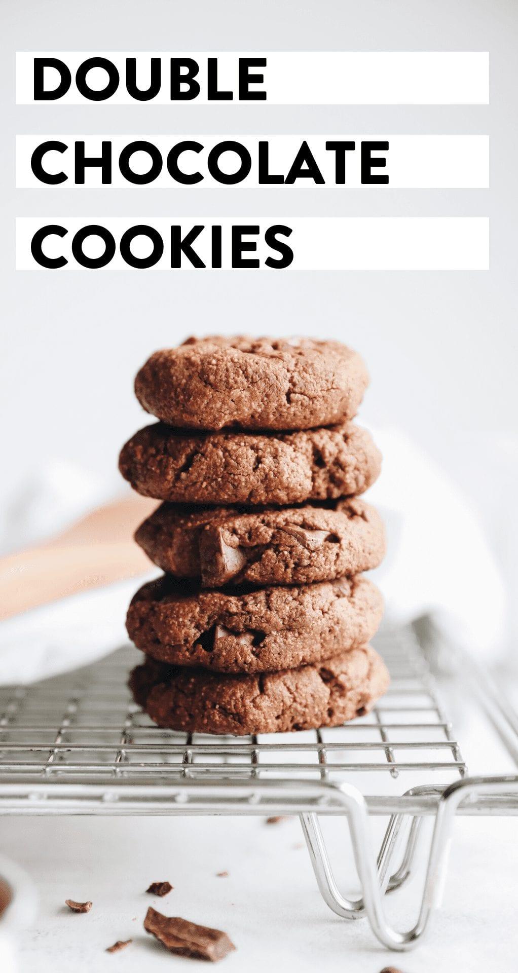double chocolate cookies grain-free