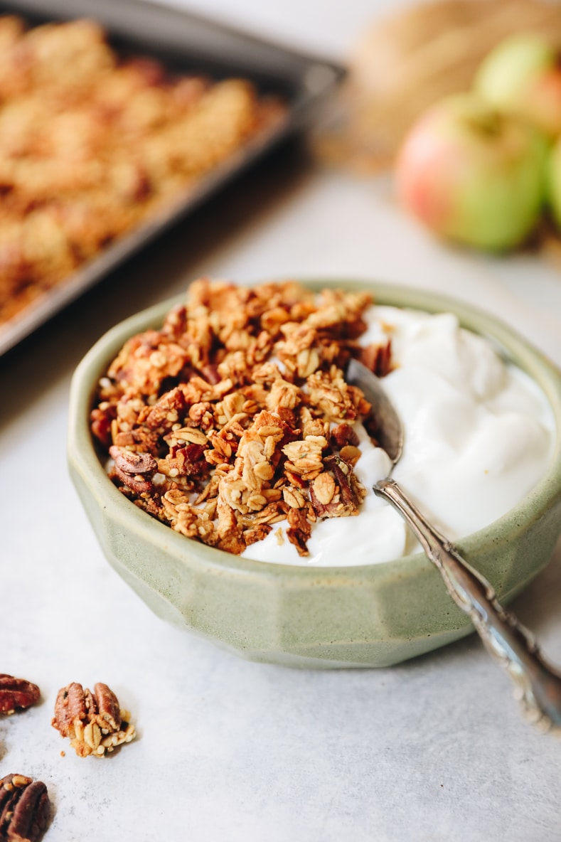 Apple Cinnamon Granola The Healthy Maven